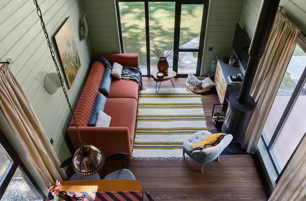 Фото №2 - Яркий и уютный дом дизайнера в Перми