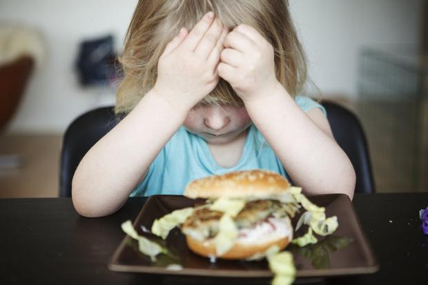 ребёнок отказывается от еды