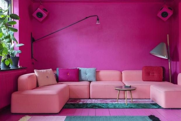 Фото №1 - Яркий дом в Копенгагене