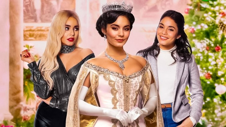 Фото №1 - Три личности Ванессы Хадженс: повторяем луки из новой комедии Netflix «На месте принцессы 2» 👑