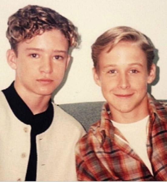 Джастин и Райан в начале своей карьеры
