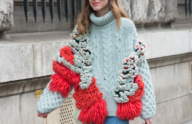 Модные платья: зима, фото