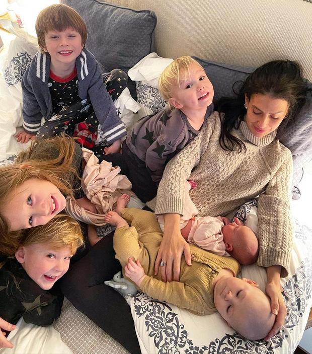 Фото №3 - Хилария Болдуин стала мамой в 6-й раз— через полгода после прошлых родов