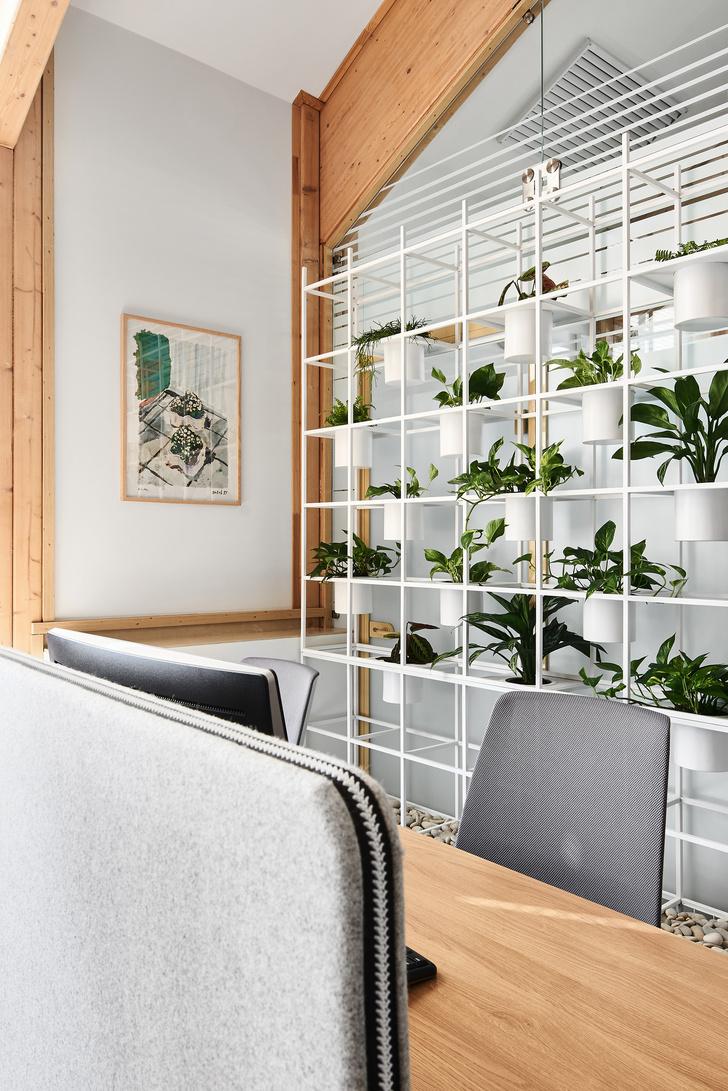 Фото №12 - Уютный офис в скандинавском стиле с верандой в Петербурге
