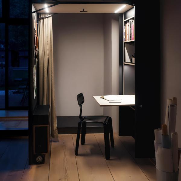 Фото №7 - Der Vorstand: складной домашний офис от Nils Holger Moormann