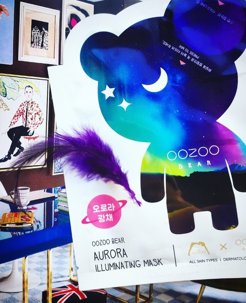 THE OOZOO, Bear Aurora Illuminating Mask отзывы