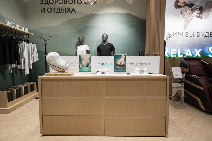Фото №2 - Первый концепт-стор Askona в России