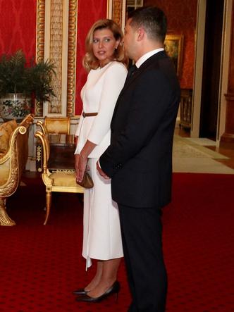 Фото №4 - Герцогиня против Первой леди: модная битва Кейт и Елены Зеленской в Букингемском дворце