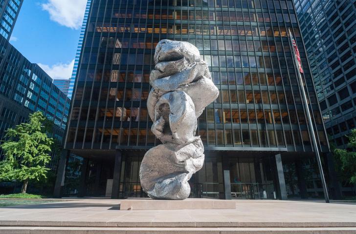 Фото №2 - Скульптор-создатель «кучи» на Болотной сравнил свое детище с Эйфелевой башней