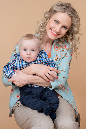 Фото №1 - Екатерина Гордон: неодинокая мама