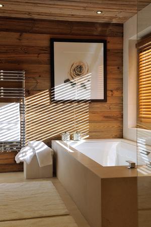 Фото №20 - Дизайнерское шале со стеклянной лестницей в Межеве