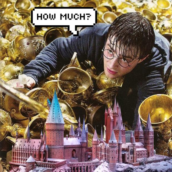 Фото №1 - Сколько стоило бы обучение в Хогвартсе в 2021 году? ✨