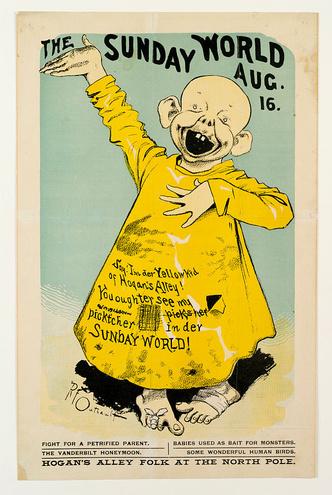 Фото №2 - Откуда взялся термин «желтая пресса»