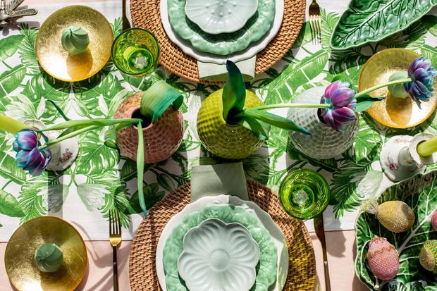 Фото №3 - Украшаем стол к Пасхе: идеи декора от Анны Муравиной