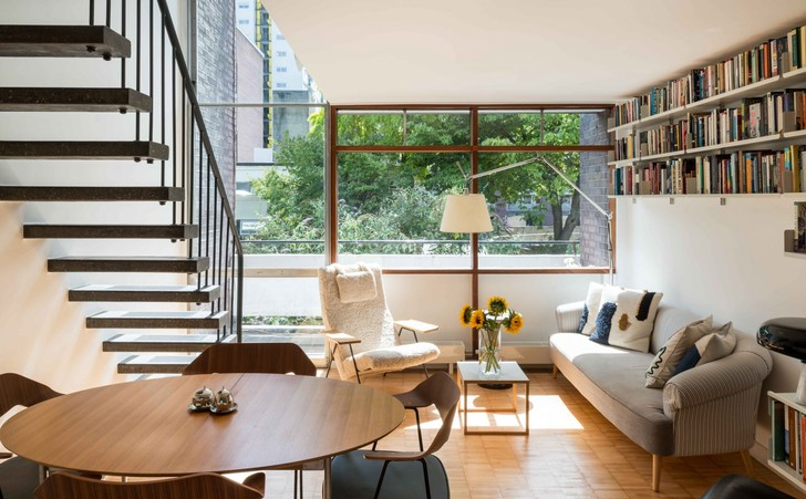 Фото №1 - Двухуровневая квартира в Лондоне