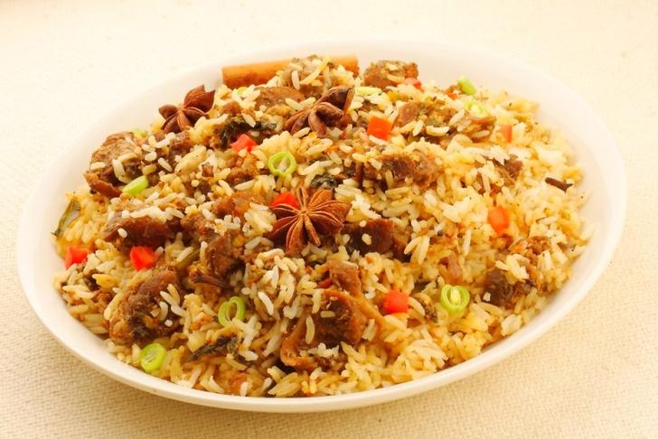 Выбрать рис в плов