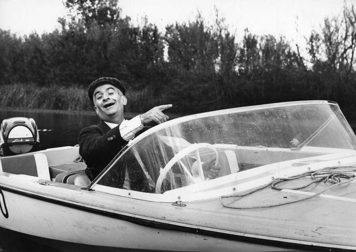 Фото №8 - Самый смешной актер Франции: 7 фактов о Луи де Фюнесе