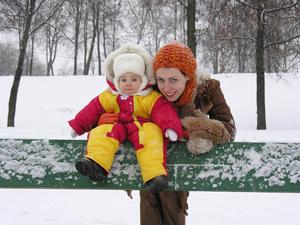 Фото №2 - Уход за кожей ребенка зимой