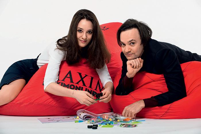 Александр Маленков с дочерью Марией