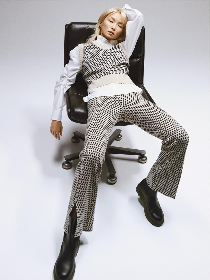 Фото №1 - Что носить в офис? 5 нескучных сочетаний из новой коллекции Claudie Pierlot
