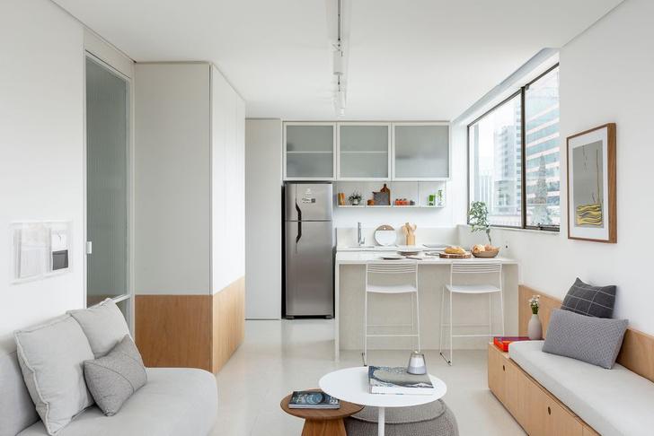 Фото №6 - Светлая квартира 37 м² в Сан-Паулу
