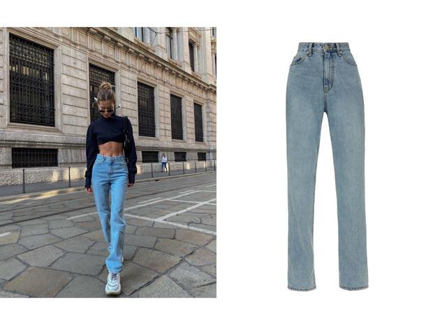 Фото №2 - У каких марок искать джинсы для высоких девушек?