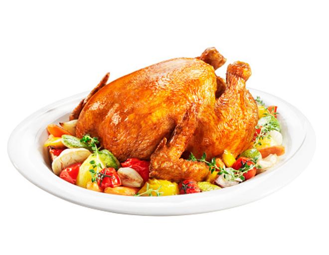 как быстро запечь курицу