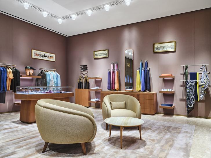 Фото №2 - Новый бутик Hermès в ТЦ «Времена года»