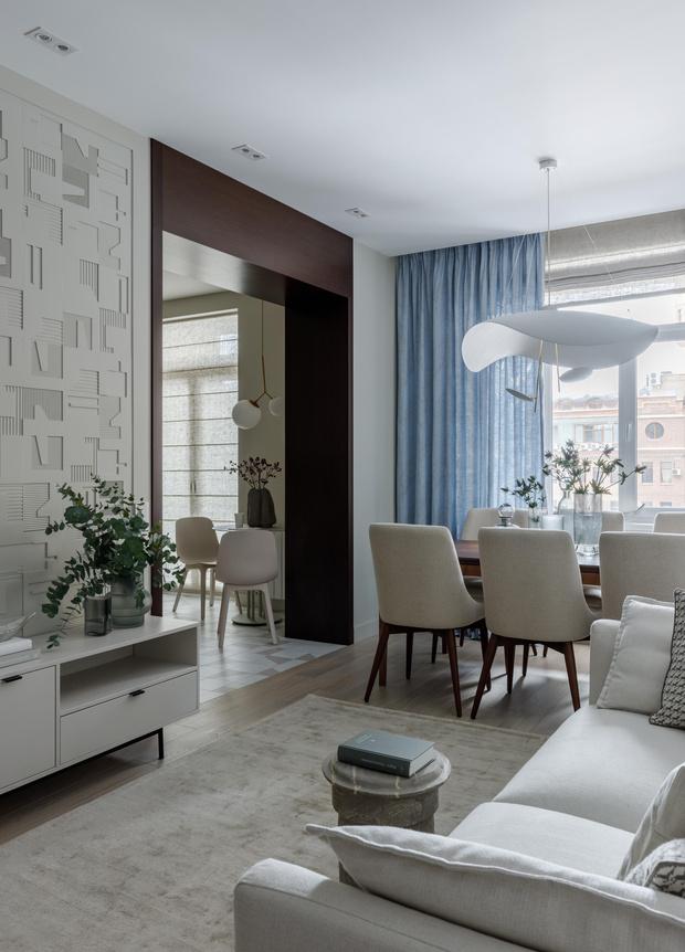 Фото №1 - Дыхание земли: квартира 90 м² в Москве