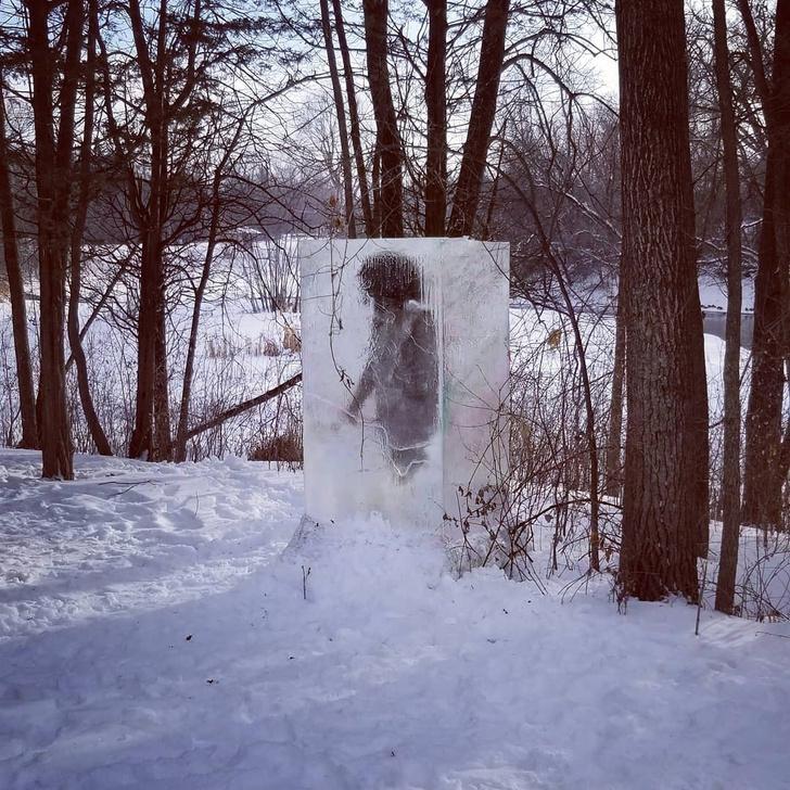 Фото №1 - В лесах Миннесоты обнаружен обелиск нового типа