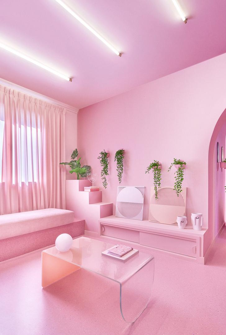 Фото №3 - Розовая квартира в центре Мадрида