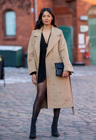 Фото №11 - С чем носить бежевое пальто: модные идеи на любой случай
