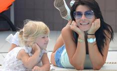 Екатерина Волкова отдала дочь в детский сад