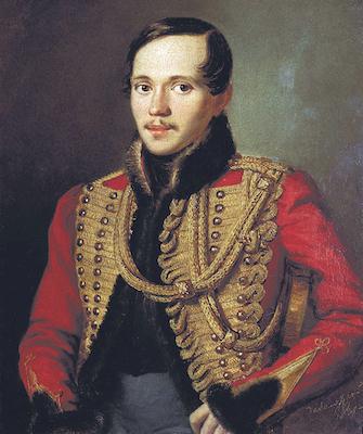 Петр Заболотский. Лермонтов в ментике лейб-гвардии Гусарского полка (1837)