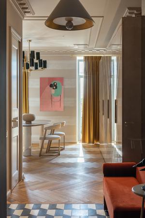 Фото №3 - Квартира на Саввинской набережной 74 м²