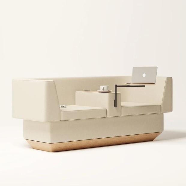 Фото №3 - Диван для работы из дома по дизайну Жоао Тейшейры