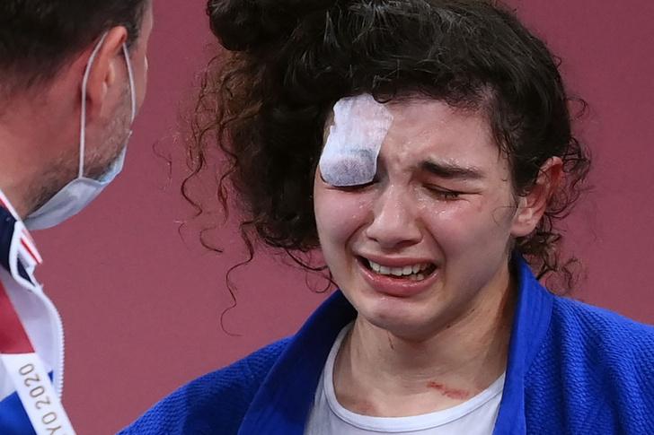 Фото №3 - Нет золота— нет мужа: как героическая борьба Мадины Таймазовой на Олимпиаде лишила ее свадьбы, но не воли к победе