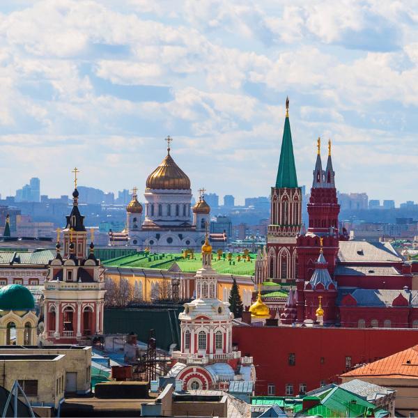 Фото №1 - Угадай, какое место заняла Москва в пятерке лучших городов мира 😉
