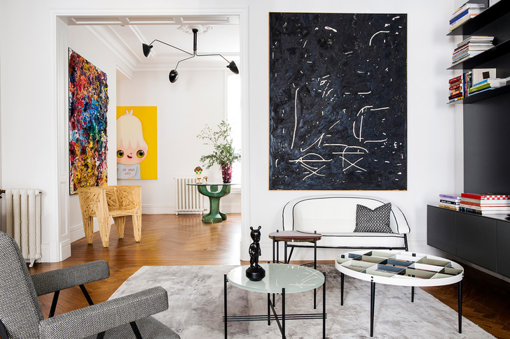 Фото №1 - Квартира для ценителей искусства в Мадриде