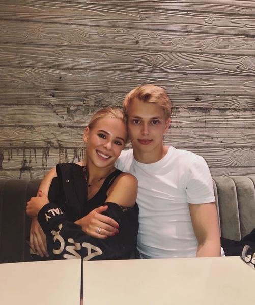 Дени Байсаров с подругой Марией