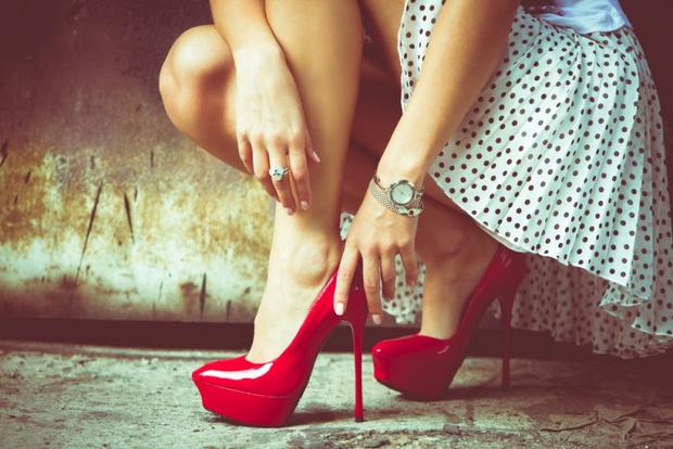 Как сделать туфли меньше