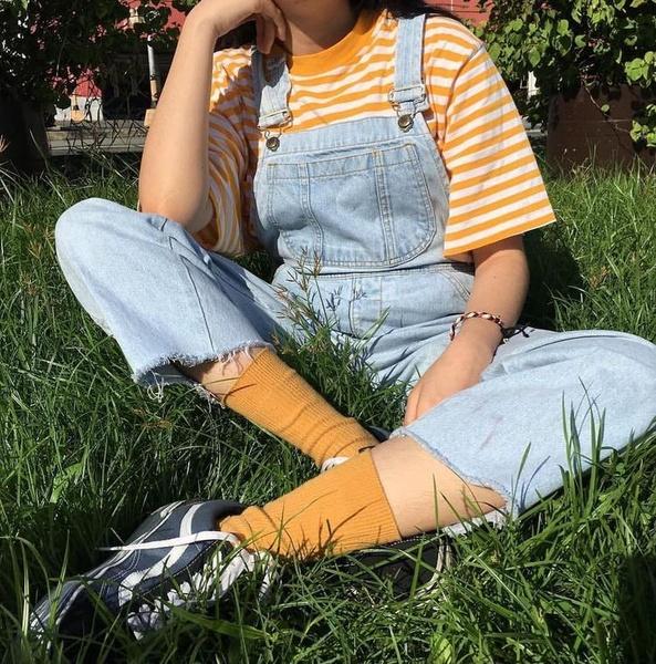 Фото №5 - Как носить модные этой весной вещи в полоску 🌈