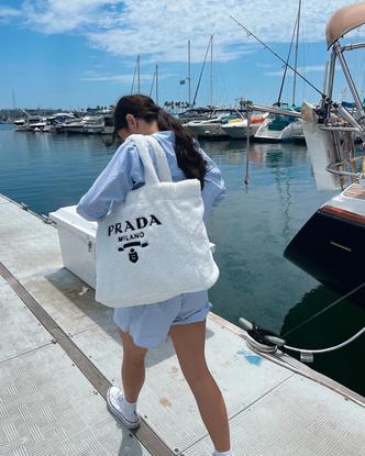 Фото №2 - Где купить милую плюшевую сумку как у Чарли Дамелио 😍