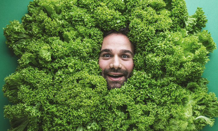 Фото №1 - Лучшие шутки о вегетарианцах