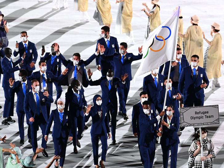 Фото №9 - Как прошло открытие Олимпиады в Токио: самые яркие кадры