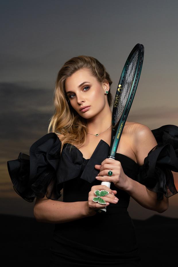 Фото №1 - Драгоценный талисман, с которым теннисистка Даяна Ястремская выходит на корт