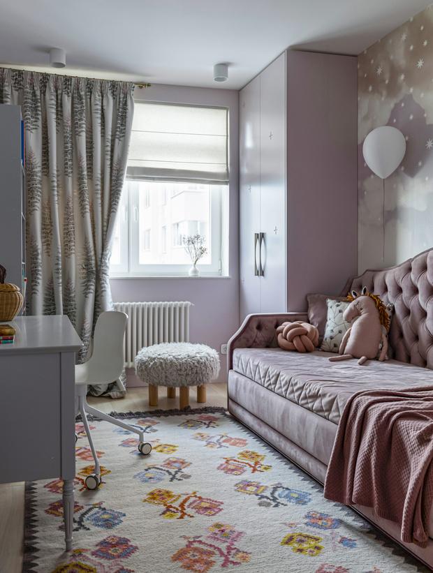 Фото №20 - Киевская квартира 82 м² в пастельных тонах