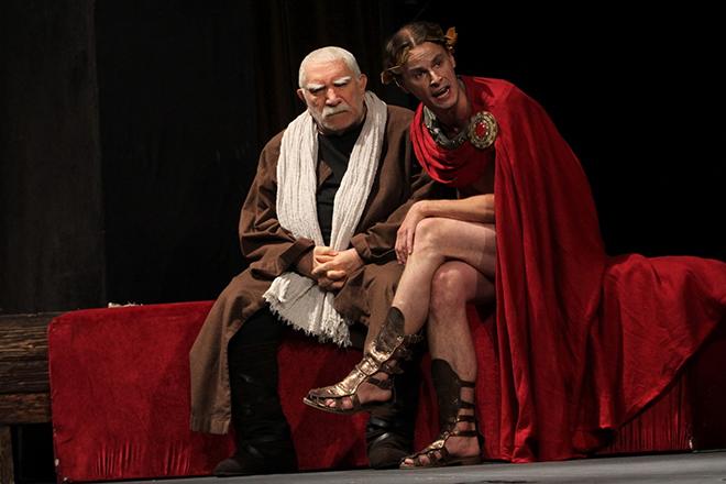 Армен Джигарханян в Театре имени Армена Джигарханяна, фото