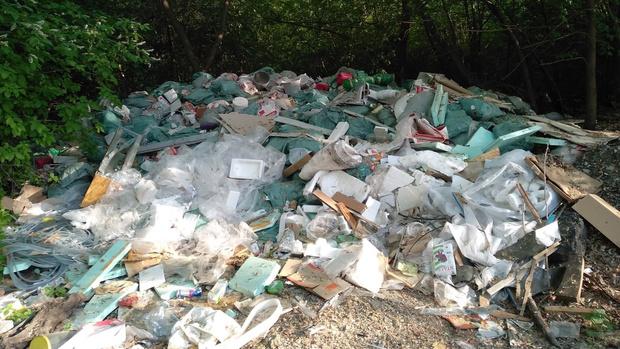 Фото №1 - Активисты обследовали берега Исети и нашли кучи мусора
