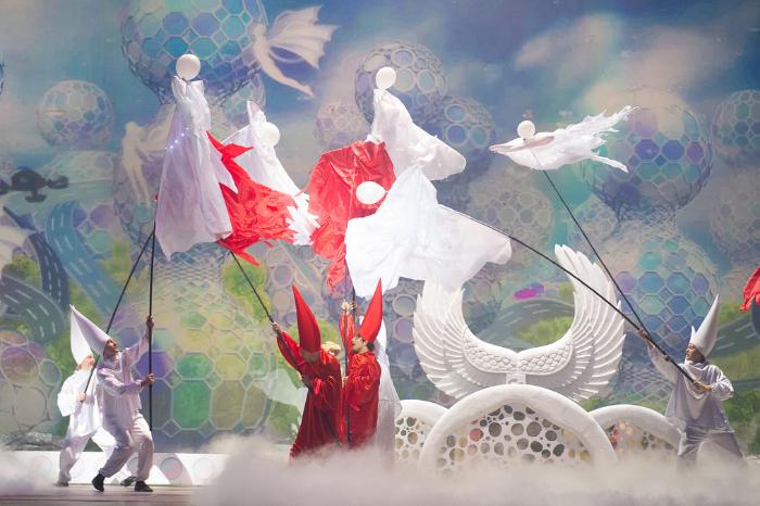 Фото №4 - Новогоднее квест-мегашоу «Ну, погоди! Поймай звезду»